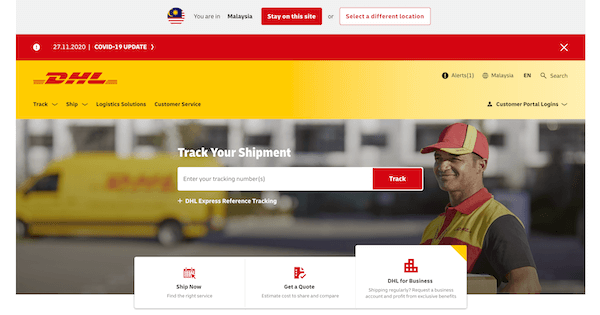 DHL Courier Service Malaysia