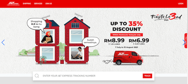 J&T Express Courier Service Malaysia