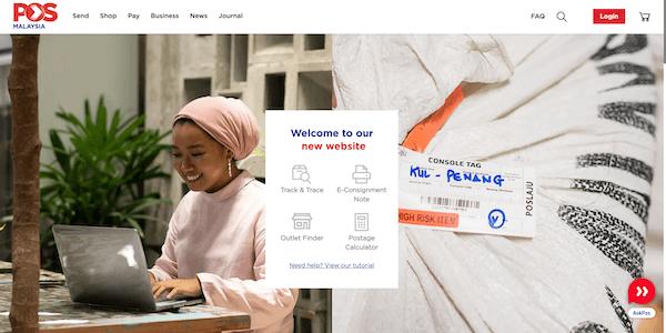 Poslaju Delivery Service Malaysia