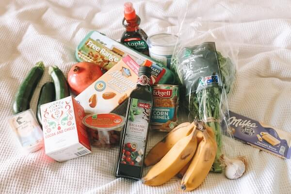 meal plan grocery list